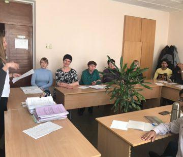 Отчет о проведении научного семинара на тему: «Социофонетическая характеристика хинглиш» на кафедре иностранных языков №4 17 января 2020 года